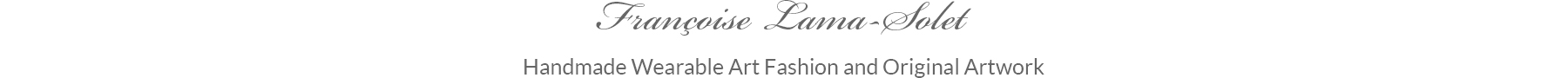 Francoise Lama-Solet Fashion Boutique